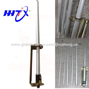 China 76-88M FM radio outdoor base antenna high power cuttable gp antenna