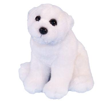 China Sitting Polar Bear 23cm Dowman Soft Touch Toys