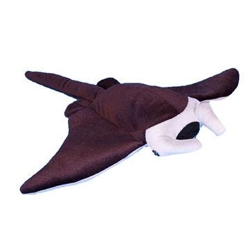 China 25cm manta ray fish soft touch toys