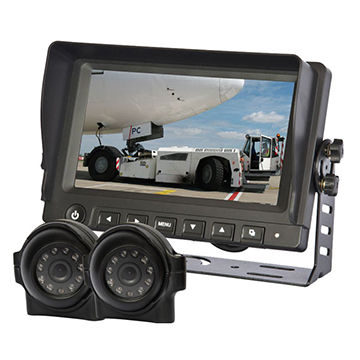 Car rear-view systems for airport vehicle rear view system