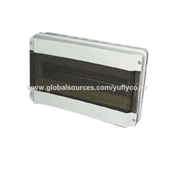 Waterproof distribution box, IP65 electrical PVC junction box and panel
