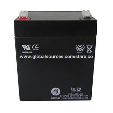 12V 4.5Ah Sealed Lead-acid Battery