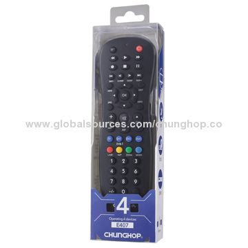 China 4-in-1 Combination Remote Controller, for TV/SAT/DVD/AUX