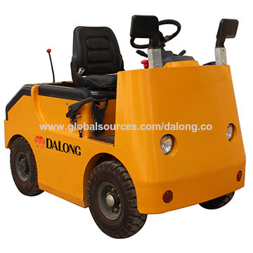 5000kg Capacity Electric Tow Tractor with 400Ah/48V Battery