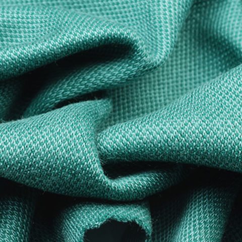 4-Way Stretch Fabric in Micro Modal Interlock Pique, with Wicking
