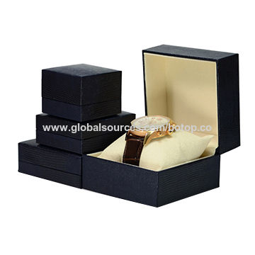 Watch Boxes/Paper Watch Boxes, Paper, Leather from Watch Box Manufacturer