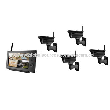 CCTV Box Camera with Simple Installation, No Video Cable Required