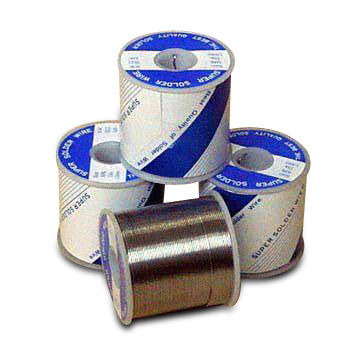 Taiwan Golden Pure Core Solder Wires, Made of High-condensation Rosin Material