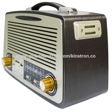 Radio with FM Radio/AM/SW, MP3 Player Function, Can Read USB/SD Card