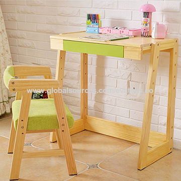 2015 New Hot Kids Study Table And Chair