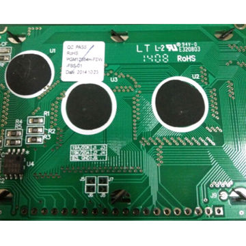 128x 64 Graphic LCD Module with 60x 32.5mm Viewing Area