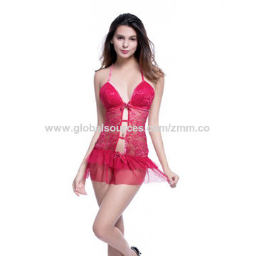 Hong Kong SAR Fetish lingerie, made of polyester, OEM and stock service are available