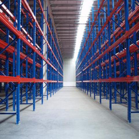 Heavy-duty warehouse storage rack