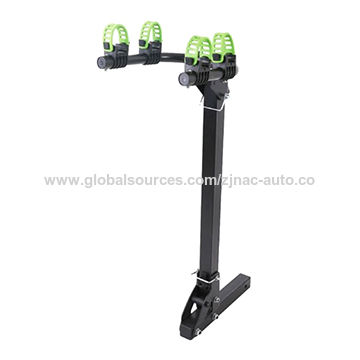 China 2016 New Tow Bar Mounted Bike Carrier, 13-pin Plug, Made of Aluminum Alloy and Iron