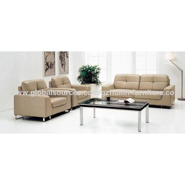 Office Sofa Fabric Or Pu Leather Or Real Leather Sponge