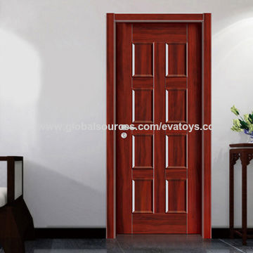 China Modern Wooden Single Door From Wenzhou Wholesaler Wenzhou
