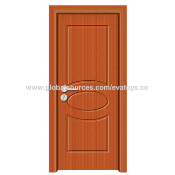 2016 high quality MDF wooden PVC door J02B065