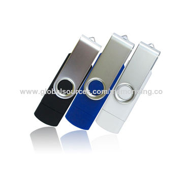 Hong Kong SAR OTG USB Flash Drive, Compatible with Smartphone with Customize Logo