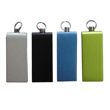 Hong Kong SAR Hot Mini Rolling USB Flash Drives with Chain, Support USB 2.0,USB 3.0/Available in Various Colors