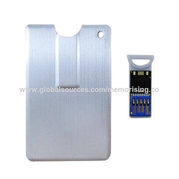 Hong Kong SAR Credit card-shaped USB flash drive, USB3.0 16GB