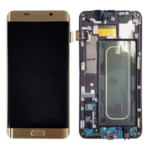 China Mobile phone LCD assembly for Samsung galaxy s6 edge plus