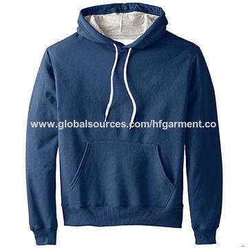 Men blank supreme hoodies outwear sweatshirt