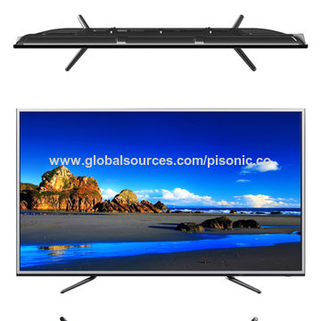 55-inch 4k smart TV LED with beautiful design good price China on