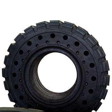 China Forklift solid tyre
