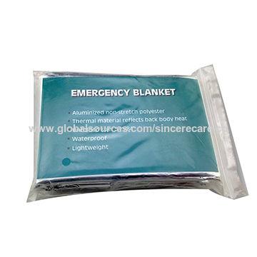 China Emergency Blanket, Silvery