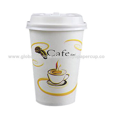 China 400ml coffee, tea or juice paper cup