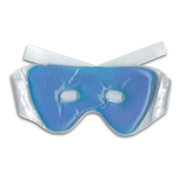 Taiwan Facial Eye Mask, Reduces Pressure of Work/Improves Sleep Quality, with Hook-and-loop Tape Enclosure