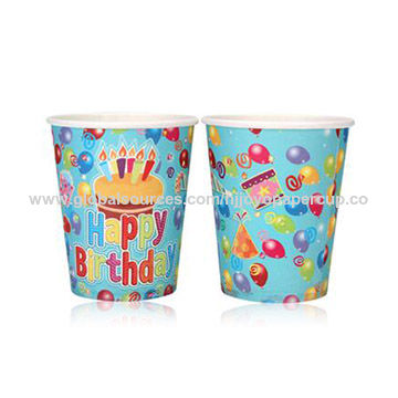 China Children's party paper cups