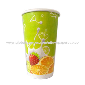 China Colorful fruit paper cup