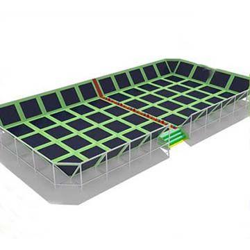 Large Indoor Trampoline Park for Amusement