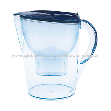 China 2016 Factory Model 3.5L Alkaline Water Filter Pitcher, Blue