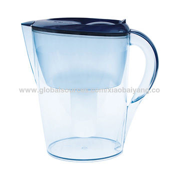 China 2016 Factory New Model 3.5L Alkaline Water Filter Pitcher, Blue
