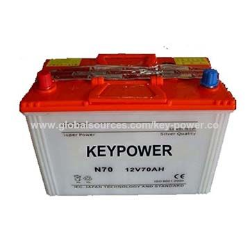 12v 70ah Price Of Dry Battery For Cars And Vehicles