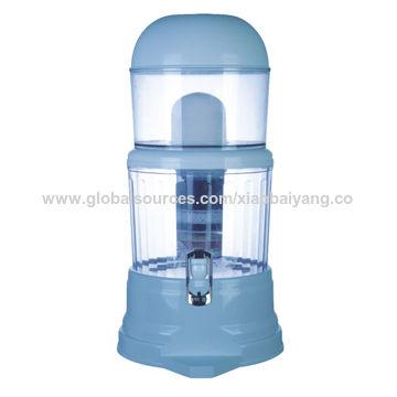 3L Mineral Pot Korean Faucet Water Filter, Blue