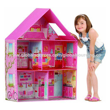 Toy house for dolls