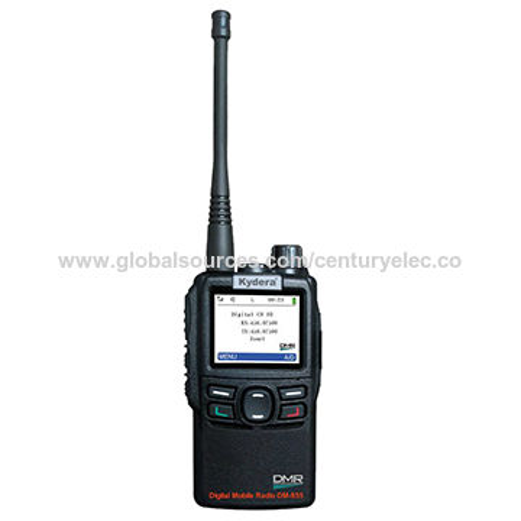 China DM-855 GPS Portable Digital Two-way Radio, DMR