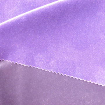 China 100% polyester flocking fabric