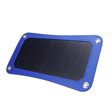 Novelty product 6.5W portable dual USB solar panel charger bag for mobile