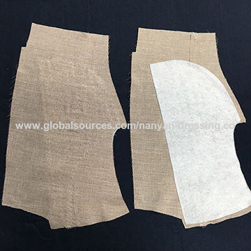 China Chest piece for suit garment accessories