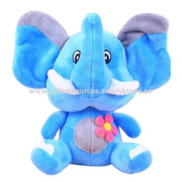 Rainbow elephant plush toys, customized accepted