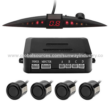China LED digital car reverse buzzer parking sensor system for vehicle