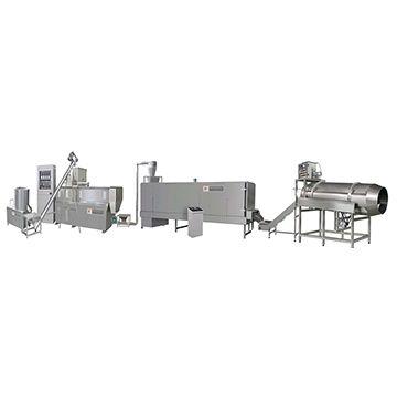 Wet method dog food extruder machine
