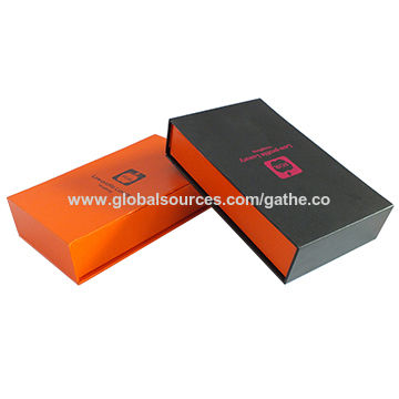 New design colorful gift packaging box in high