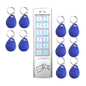 Stand alone metal access control keypads, door entry system