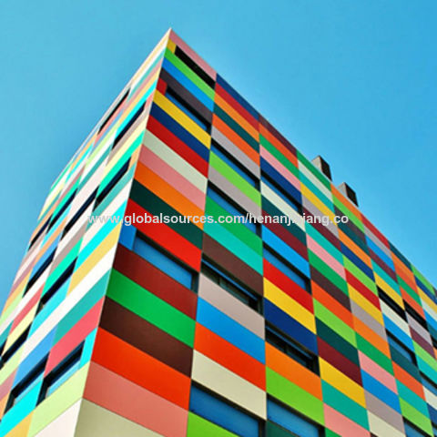 Aluminium composite panel for interior or exterior wall and signage