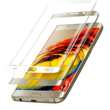 China S7 edge tempered glass. Anit scratch. 3D curved